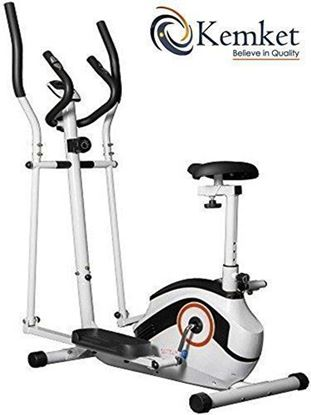 Picture of Kemket Ultra-sport Combination 2 in1 Elliptical Cross Trainer Magnetic Exercise