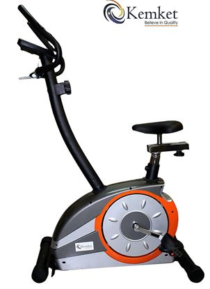 Picture of Premium Magnetic Exercise Bike Fitness with 5kgs Inner Magnetic Flywheel , Hand Pulse Sensors & 8-level resistance adjustable system -Image & Colour Slightly may vary Kemket *LIMITED OFFER*