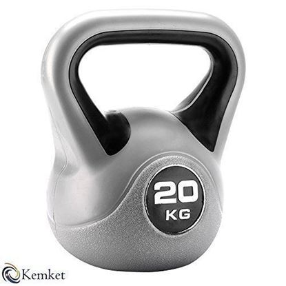 Picture of Kemket Home Gym Fitness Exercise Vinyl Kettle bell workout training 20kg