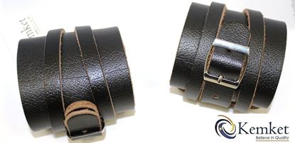 Picture of Leather Weightlifting Wrist Straps / packs pair for Weight Lifting Wrist Support