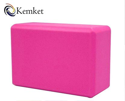 Picture of Kemket Yoga Block Brick Foaming Foam Block Home Exercise Pilates Tool Stretching Aid