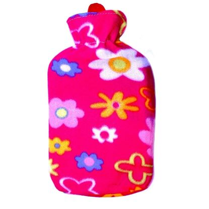 Picture of Hot water bag with fleece 2L DARK PINK