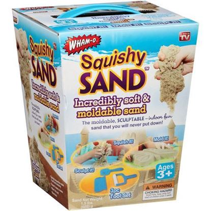 Picture of Wham-O Squishy Sand Incredibly Soft & Moldable Sand