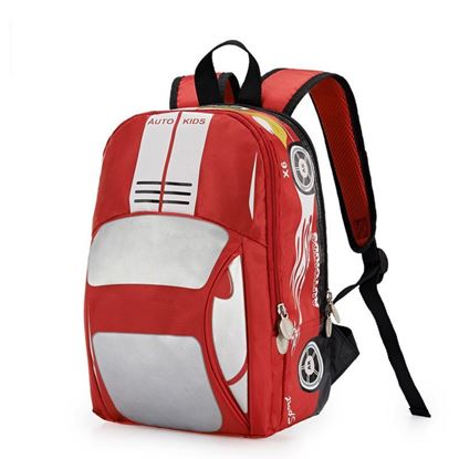Picture of Autokids Child Backpack Anti-lost The Car Design Bag (RED)