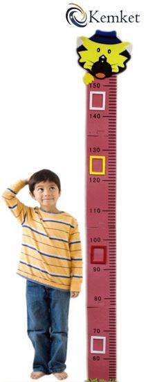 Picture of Children's Height Chart: Perfect for a Childs Bedroom or Baby Nursery Cat Design Height Chart(1.5m)