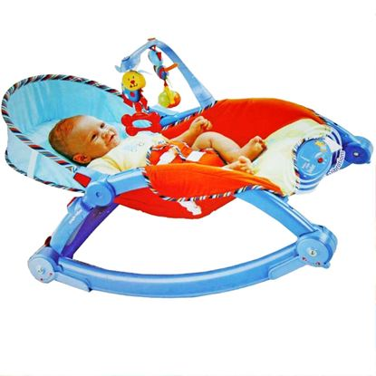 Picture of MUSICAL & VIBRATION FOLDABLE ROCKER, BOUNCER, CRIB FOR BABIES TODLER - Heavy and Sturdy - 3
