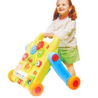 Picture of Walking a fine activity table Babies First Friend Anti-counter and interactive activities table