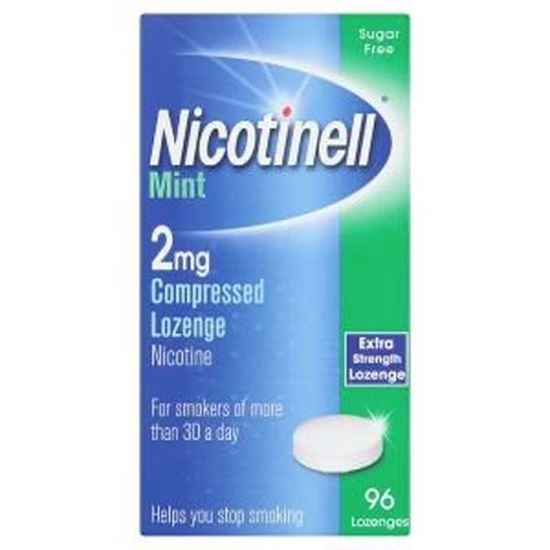 Picture of Nicotinell Lozenge Mint 2mg - 96 Lozenges