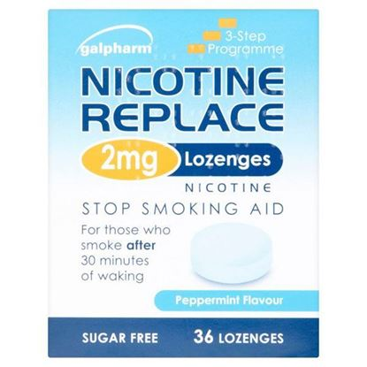 Picture of Nicotine Replace 2mg  Lozenges- 36