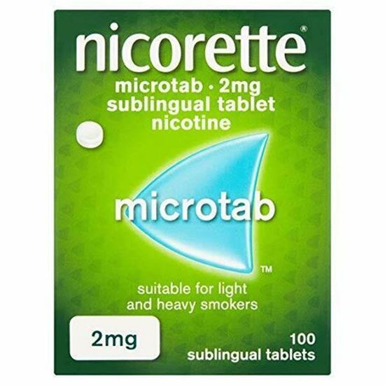 Picture of Nicorette Microtab, 2 mg, 100 Tablets