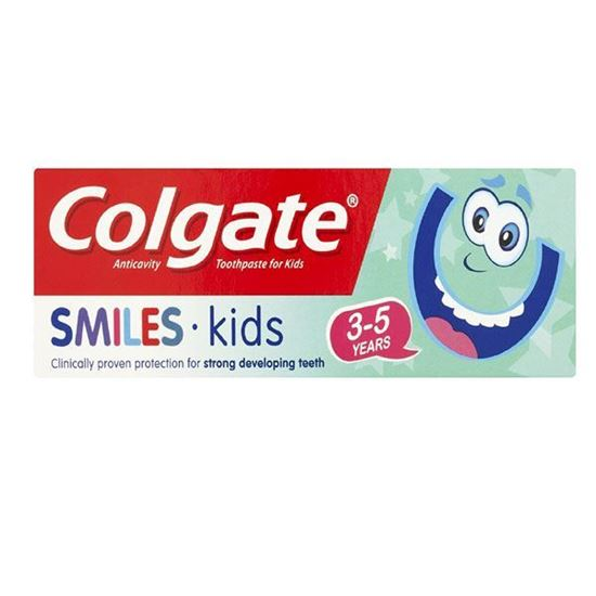 Picture of Colgate Smiles Junior 3-5 Years Kids Toothpaste, 50 ml